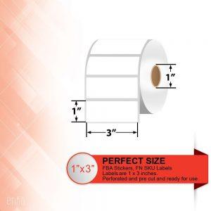 Zebra Compatible 3″ X 1″ Premium Direct Thermal Paper Labels