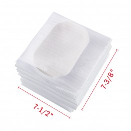 7-3/8″ x 7-1/2″ Foam Wrap Pouches [25-Pack]