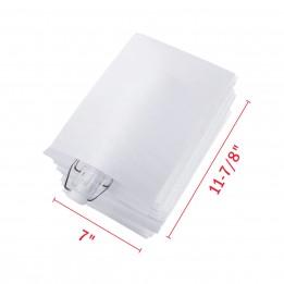 7″ x 11-7/8″ Foam Wrap Pouches Bags [25-Pack]