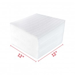 12″ x 12″ Packing Foam Sheets Wrap – 50 Sheets