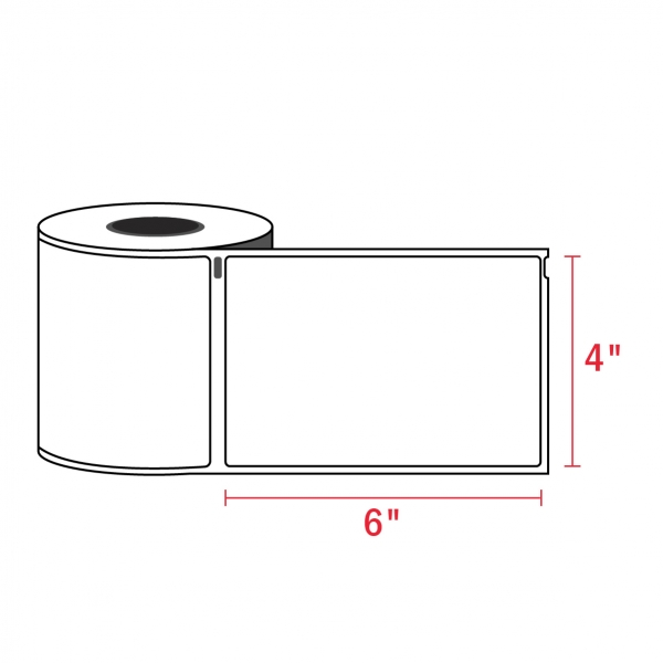 Dymo 1744907 4XL Compatible Shipping Labels – 4″ x 6″ (220/Roll)