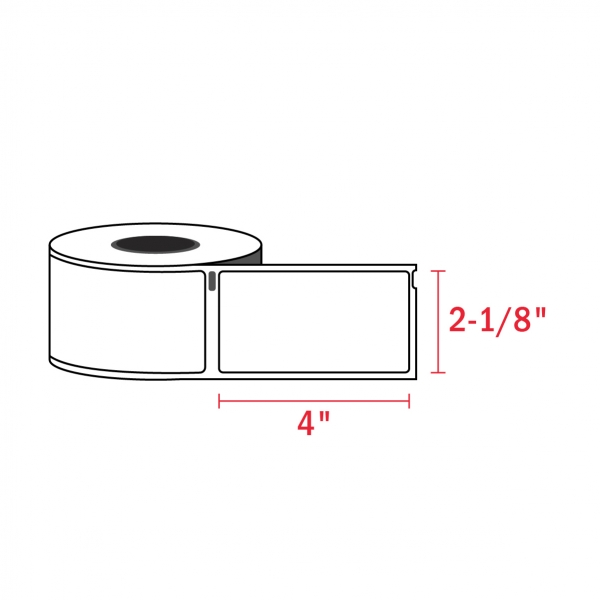 Dymo 30323 Compatible Address Shipping Labels, 2-1/8″ x 4″ (220/Roll)
