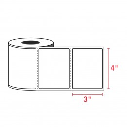 4″ x 3″ – Zebra Compatible Labels (500/Roll)