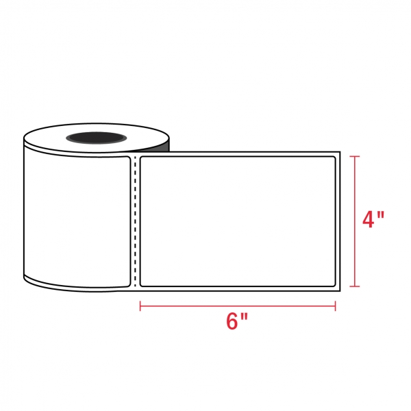 4″ x 6″ – Zebra Compatible Labels (450/Roll)