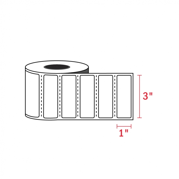 3″ x 1″ – Zebra Compatible Labels (1375/Roll)