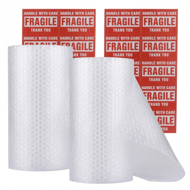 Bubble Wrap Rolls-2 (Total: 12 in x 60 ft)