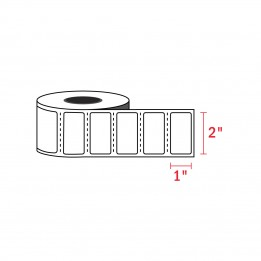 2″ x 1″ Zebra Compatible Labels (1300 Labels / Roll)