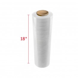 18″ Hand Stretch Film Wrap – 1000 ft/Roll – Blown