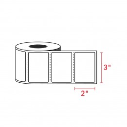 3″ x 2″ Zebra Compatible Labels (700 Labels / Roll)