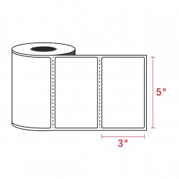 3″ x 5″ Zebra Compatible Labels (350 Labels / Roll)