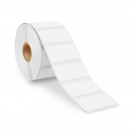 2″ x 1″ Direct Thermal Labels – 1″ Core