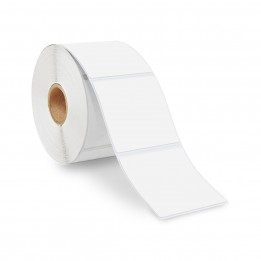 3″ x 3″ Direct Thermal Labels – 1″ Core