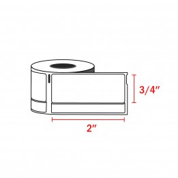 Dymo 30330 Compatible Return Address Labels 3/4″ x 2″ (500 Labels / Roll)