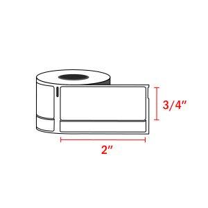 Dymo 30330 Compatible Return Address Labels 3/4″ x 2″ (500 Labels / Roll)
