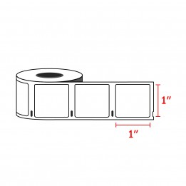 Dymo 30332 Compatible Multipurpose Labels 1″ x 1″ (750 Labels / Roll)