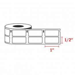 Dymo 30333 Compatible Small Multipurpose Labels 1/2″ x 1″ (1000 Labels / Roll)