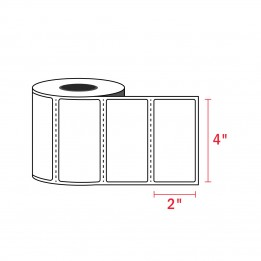 Compatible Zebra Labels 4″ x 2″ (750/Roll)