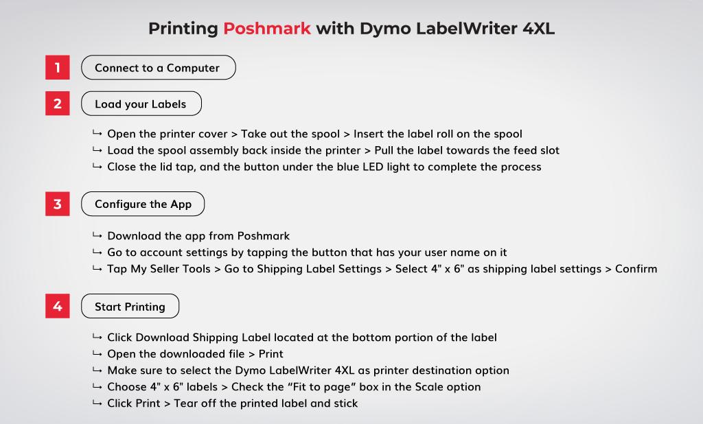 Printing-Poshmark-with-Dymo-LabelWriter-4XL