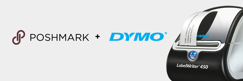 how to print poshmark shipping label with dymo