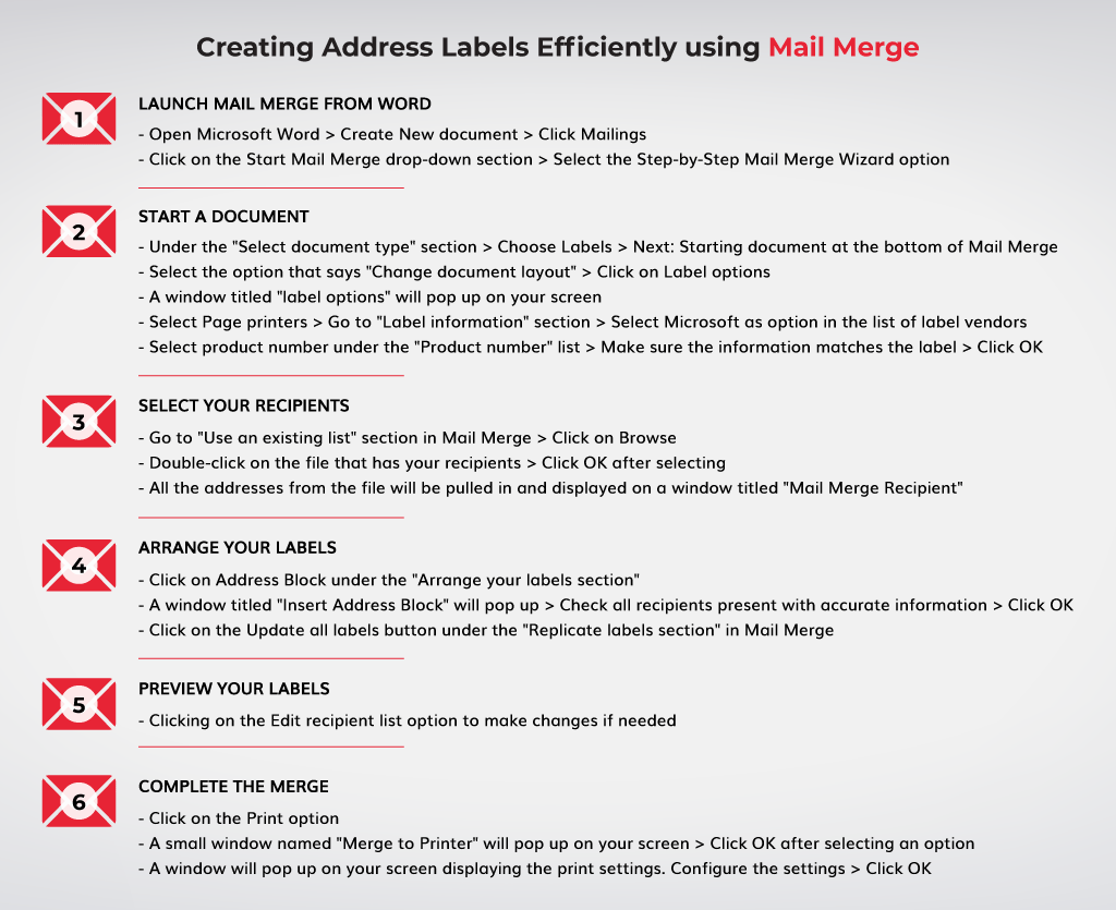 Creating-Address-Labels-Efficiently-using-Mail-Merge