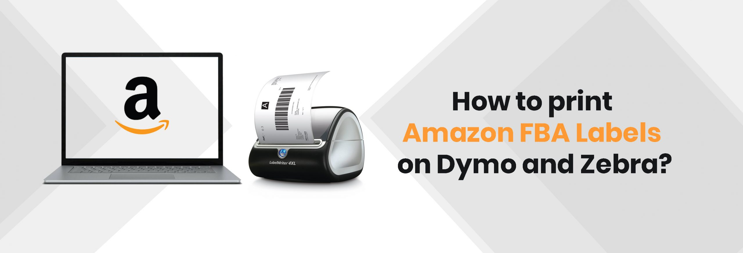 How to Print Amazon FBA Labels on Dymo and Zebra