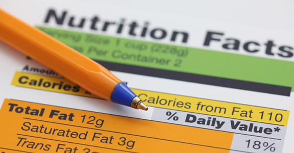 label with complete directions for proper handling of nutrition drug