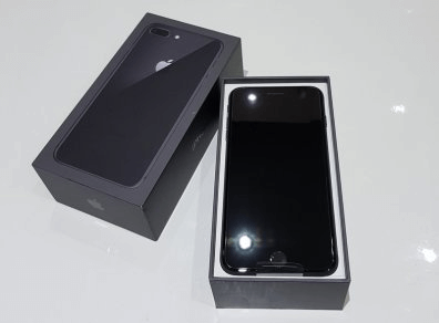marketable smartphones in a nice black box packaging