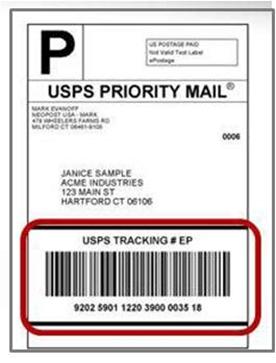 usps tracking barcode