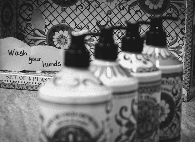 A handwashing reminder
