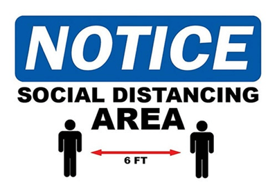 An example of a NOTICE label