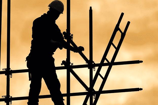 Fall and dangerous equipment hazards in building maintenance