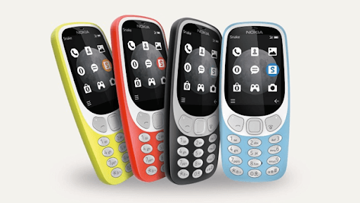 Nokia's domination in the 1990s