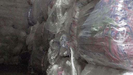 These are plastic wraps collected by AAA Polymer