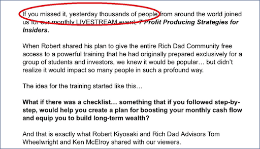 inexpensive ways to use FOMO marketing 2