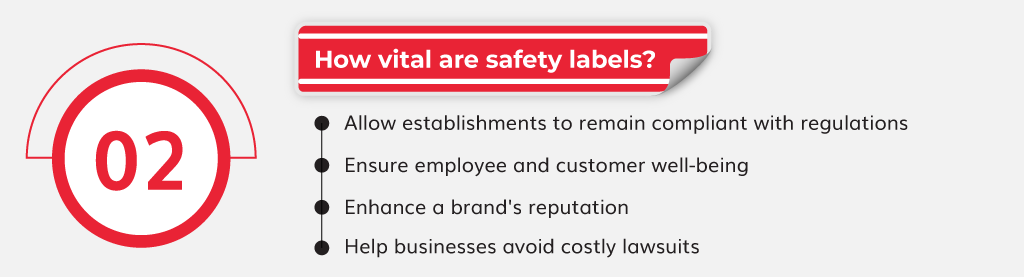 How vital are safety labels?