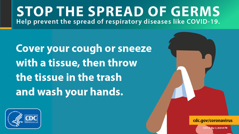 do not spread germs