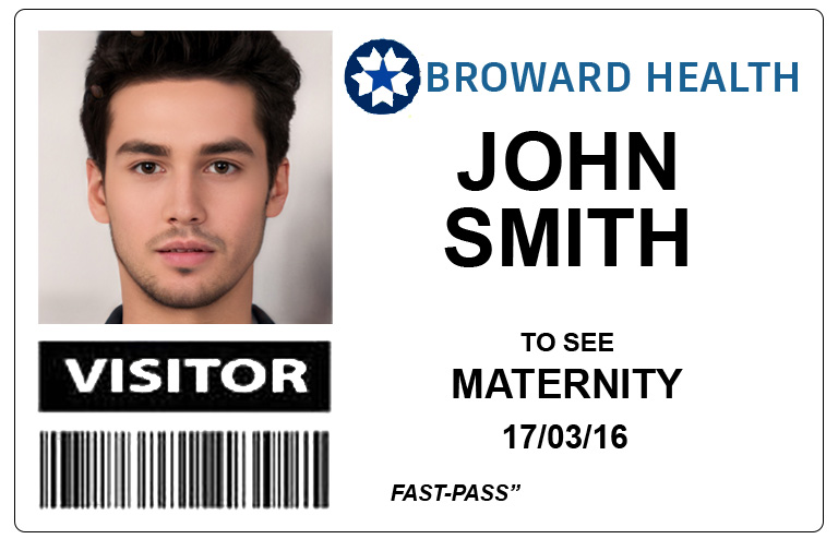 broward health medical centre visitor pass-