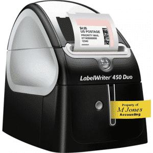 LabelWriter Duo thermal printer