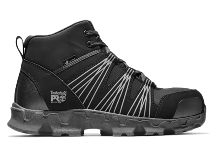 A Timberland PRO Powertrain Alloy Toe ESD Mid-Work boot