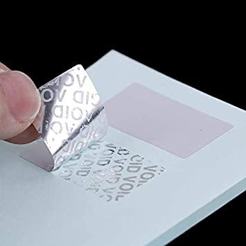 VOID sticker