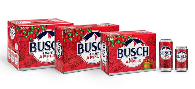 Busch Light Apple packs