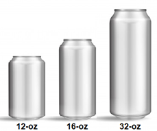 Tin Can Sizes