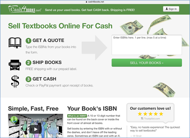 Cash 4 Books buys new and old books