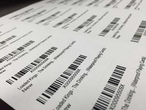 Code 128 FNSKU labels