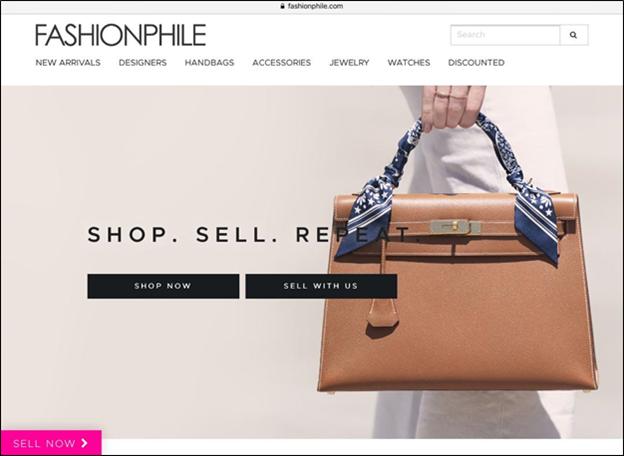 Fashionphile designer online store