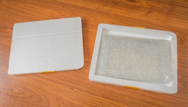 Foam and bubble wrap for packaging