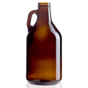 Mini-growler bottle