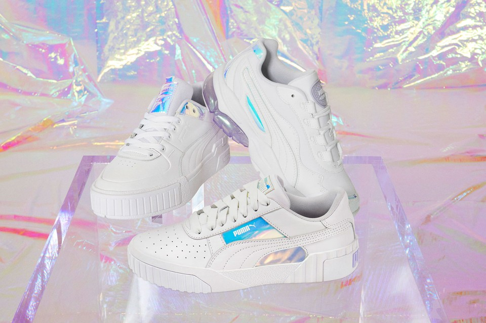 Puma uses holographic technology for product design and security