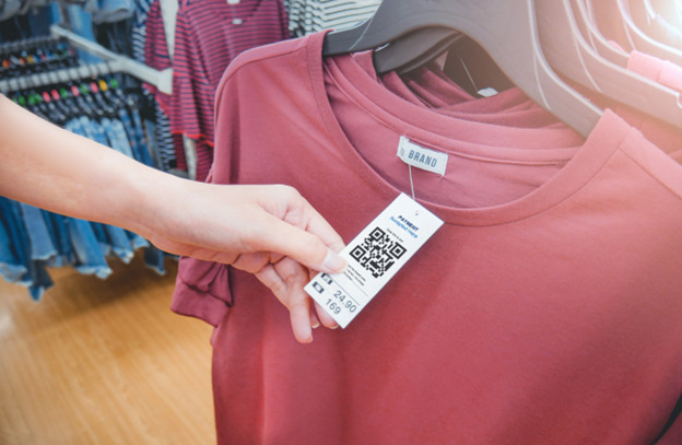 QA-tested barcode in a product label