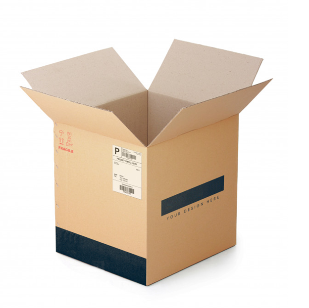 box with labels